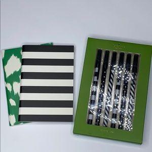 Kate Spade Note Pad & Pen Set - NEW
